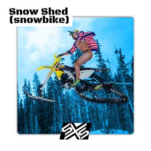 Snow Shed Plate